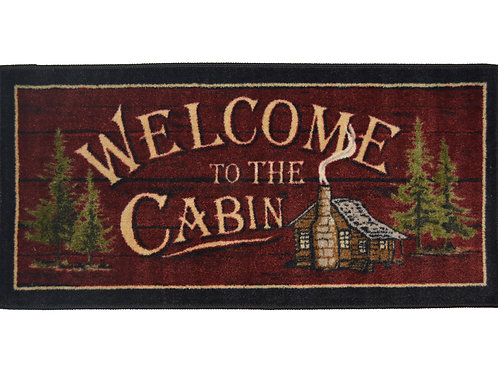 Welcome To The Cabin 20″x 44″