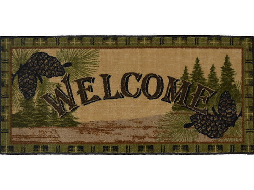 Forest Welcome 20″x 44″