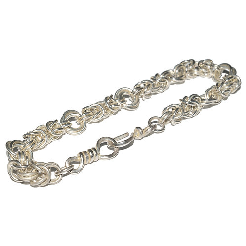 Sterling Silver Byzantine Chainmaille Workshop