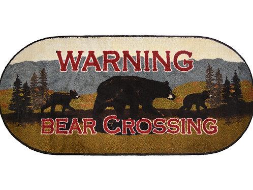 Bear Crossing Oval 20″x 44″