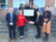 Children's Heartbeat Trust - cheque Mar