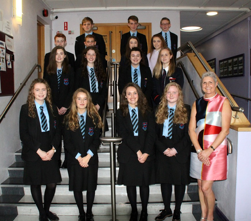 Today we recognised the excellent results achieved at GCSE & A2 by a number of our former pupils within the Senior High Schools.