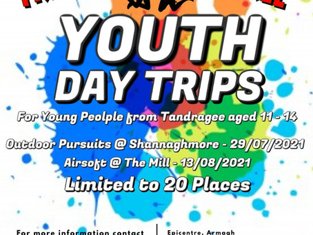 Free Youth Day Trips - July, August 2021