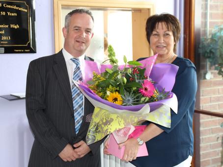Mrs Whitten (French Teacher) Retires