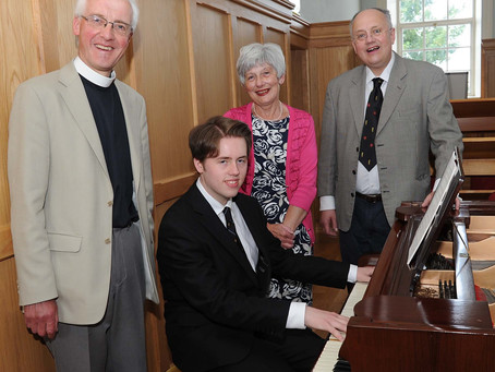Past pupil, Mr Orly Watson has been appointed organist of Dromore Cathedral