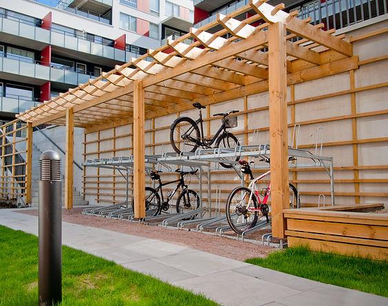 Ingeniør Larsson AS | Sykkelstativer, postkasser, boder, overbygg m.m.