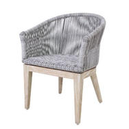 LOOM Dining Arm Chair (Grey Wash)