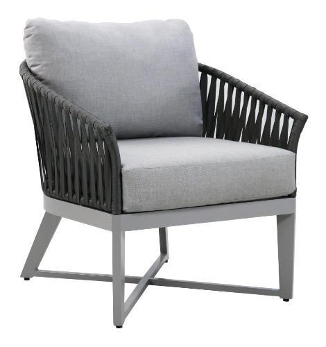 CANVAS Aluminum Club Chair