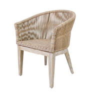 LOOM Dining Arm Chair (Natural)
