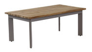 Canvas Aluminum Coffee Table