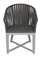 CANVAS Aluminum Dining Arm Chair