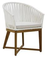 CANVAS Teak Dining Arm Chair