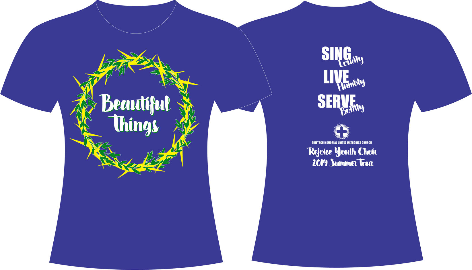 Beautiful Things T-Shirt Design