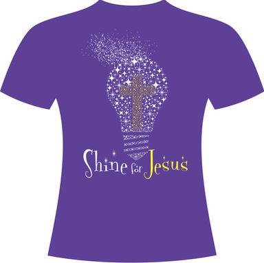 Shine for Jesus Youth Choir Tour Shirt