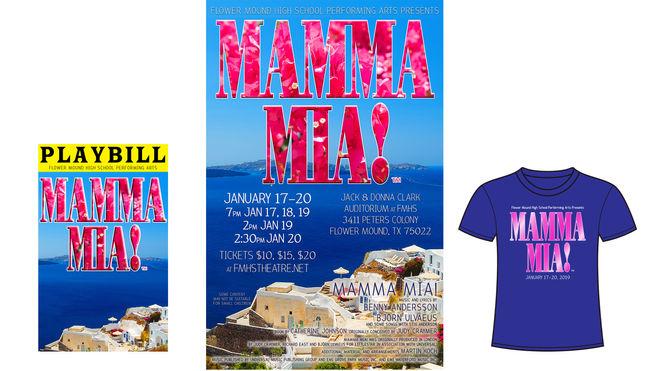 Mamma Mia Branding