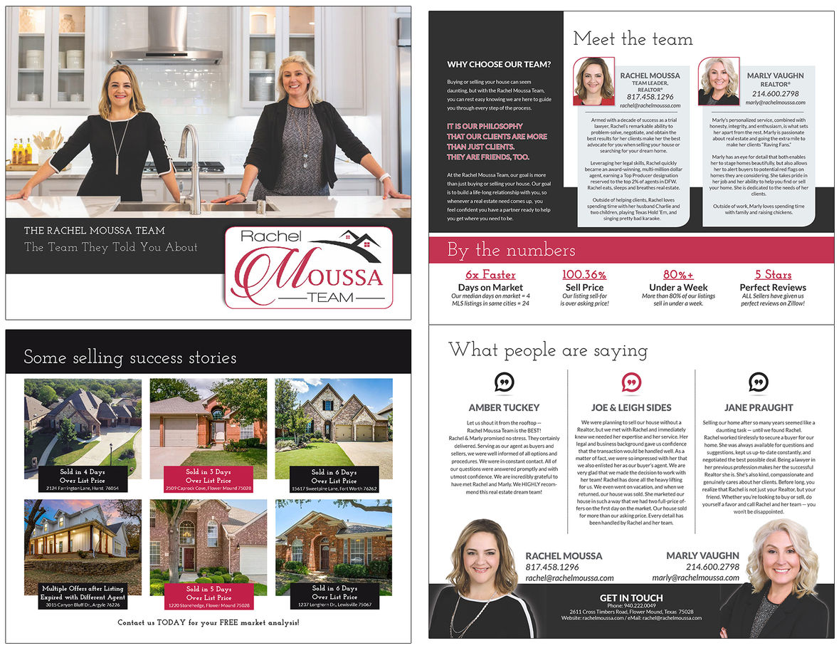 Realtor Team Brochure