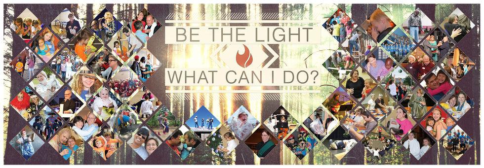 Be the Light Hallway Banner