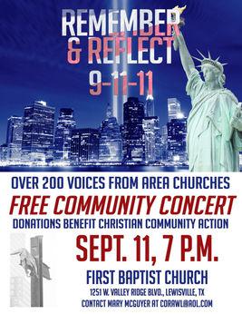 Remember & Reflect Concert