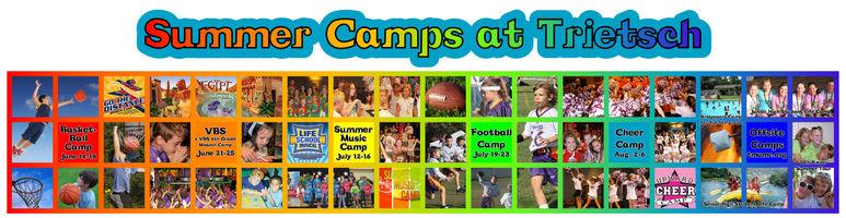Rainbow Summer Camps Hallway Banner