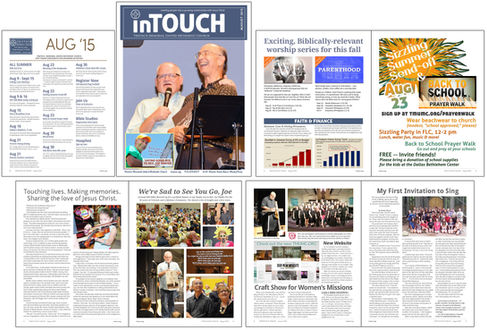 In Touch Newsletter, August 2015