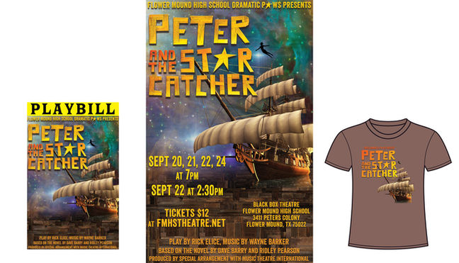 Peter and the Star Catcher Branding