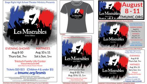 Les Miserables Branding