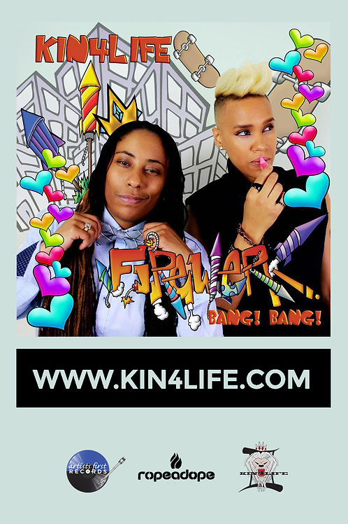Official KIN4LIFE Firewerk Sticker