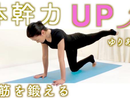 【レッスン動画♯26】体幹ヨガ〜腹筋編〜