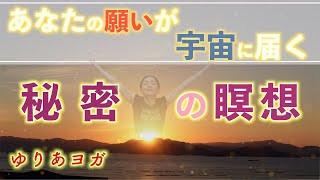 【レッスン動画#45】秘密の瞑想✨願いが宇宙に3倍の速さで届く✨