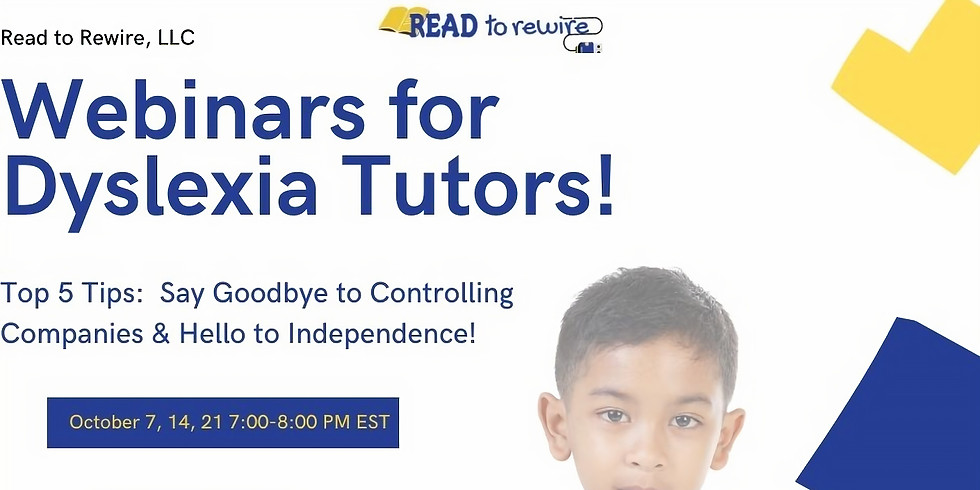 7-800 pm EST Say Goodbye To Controlling Tutoring Companies and Hello to Independence! (1)