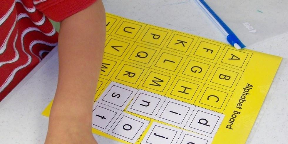 8-9 pm Spelling Multi-Sensory (OG/Willson)