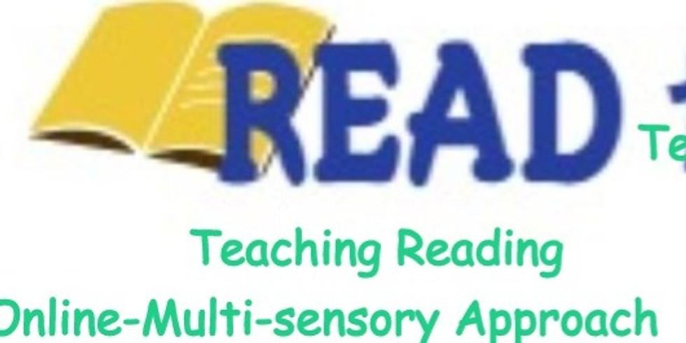 Webinar- Teaching Reading Online - Multi-sensory Approach