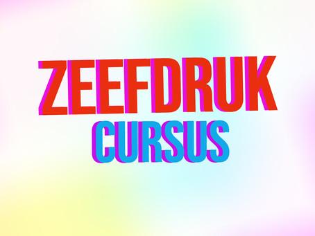 ZEEFDRUK CURSUS!