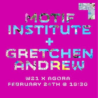 """Does AI need a body? 🧠🤖  On February 24th, at 6:30 pm GMT, don't miss our first conversation with artist Gretchen Andrew and Helene von Schwichow, co-founder of independent think tank MOTIF Institute for Digital Culture - in partnership with @agoradigitalart. Together we will explore the role of AI in feminist practice and pose the question, 'Does AI need a body?'  Free tickets in bio ✨  @gretchenandrew (born in Los Angeles, 1988) is a search engine and internet imperialist artist.  She trained in London with the artist Billy Childish from 2012-2017. In 2018 the @vamuseum released her book Search Engine Art. Starting in 2019 she became known for her vision boards and associated performative internet manipulations of art world institutions of #friezelosangeles, #whitneybiennial, #turnerprize, and The Cover of @artforum. Gretchen's work has recently been featured in @flashartmagazine, @washingtonpost, #fortunemagazine, @monopolmagazine, #wirtschaftswoche, @latimes, and @financialtimes. She is represented by @annkakultys, who will be hosting her next exhibition in spring 2021.   #helenevonschwichow is co-founder of the independent think tank @motif_institute. With MOTIF, she works at the intersection of technology and society, conducts research and advises organisations on topics like #AI, mobility or innovation. Her work often includes feminist perspectives on technological developments, the project #feministfutures, for example, aims to re-imagine the internet from a feminist point of view. For her work with MOTIF she has been listed in the tech category of @forbesunder30.  📸 Gretchen Andrew, """"GreMap of the EU (boat)"""", 2020. Hope stickers, plastic eggs, plastic grapes and charcoal on canvas, 152.5 x 152.5 cm. Courtesy Annka Kultys Gallery"""