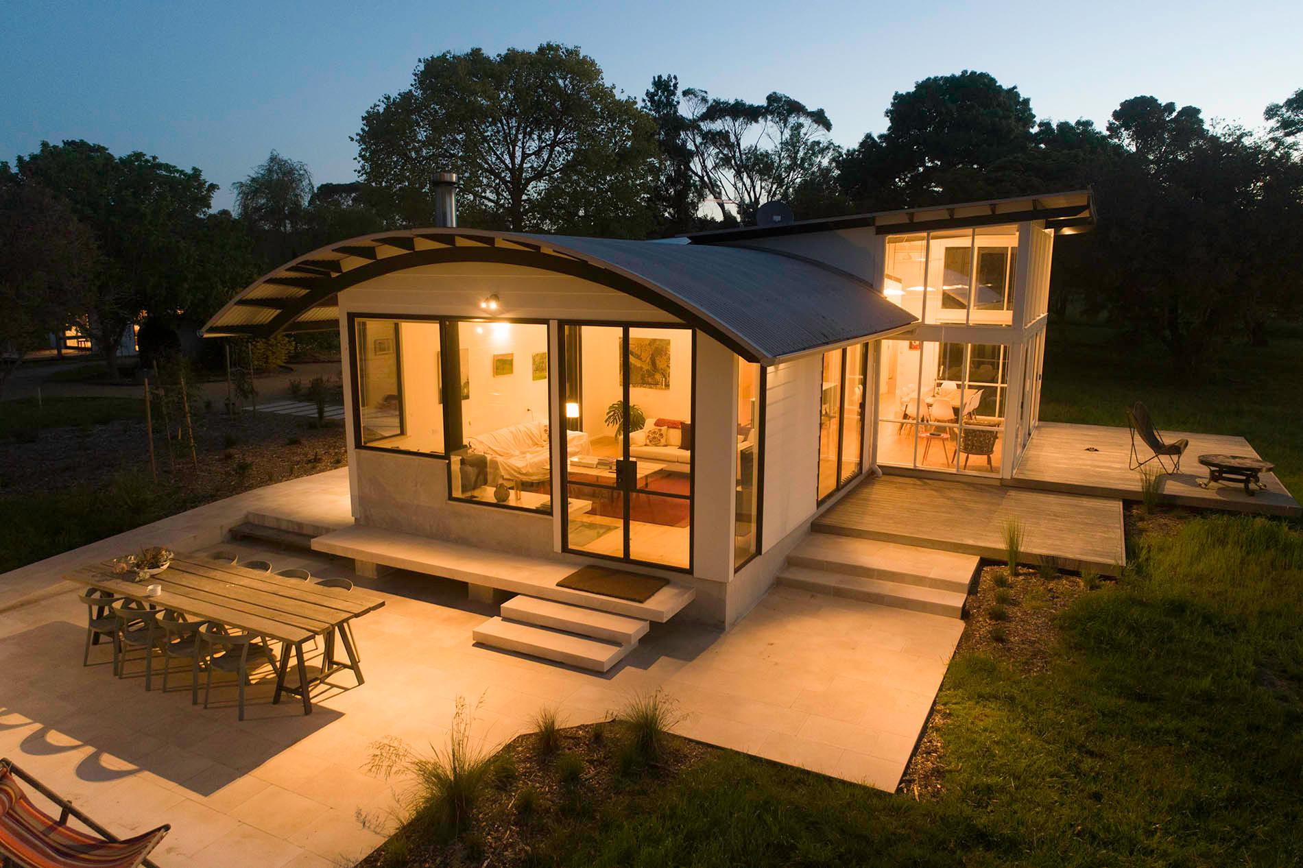 Farmhouse terrace