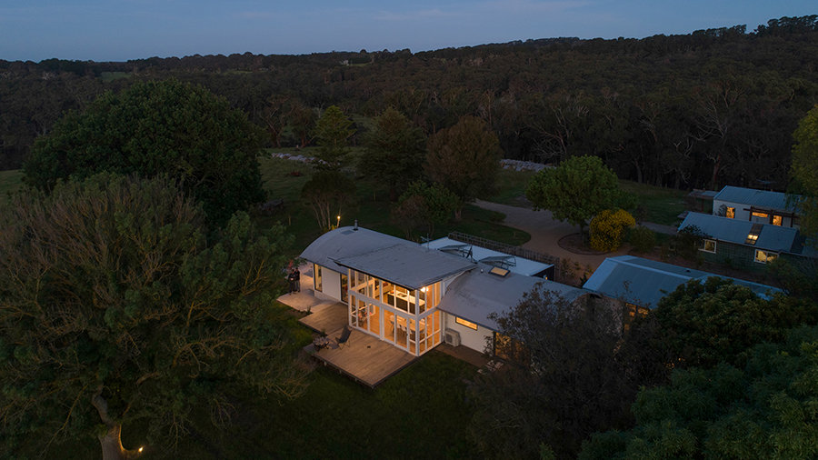 3 Birds eye view of Red Hill Ridge showi