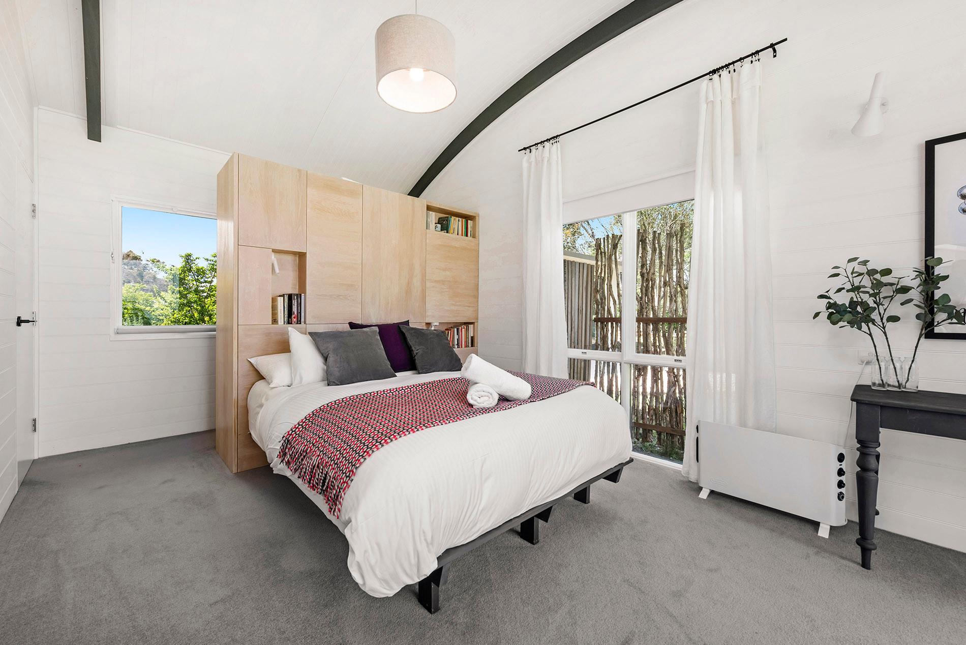 Main bedroom looking south-east.