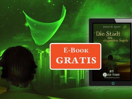 Kein Witz: Fantasyroman »Tad Time« gratis auf allen E-Book Plattformen erhältlich!