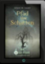 E-Book Cover Fantasyroman Tad Time #4: Pfad der Schatten