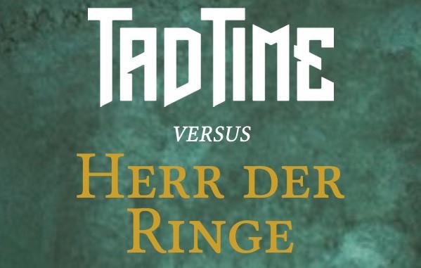 Teaser Fantasyromane Herr der Ringe und Tad Time im Fantasy-Showdown