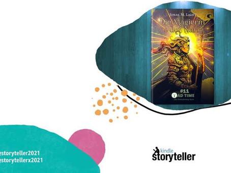 Kindle Storyteller Award 2021: »Die Magierin & der Narr« als Fantasyroman nominiert