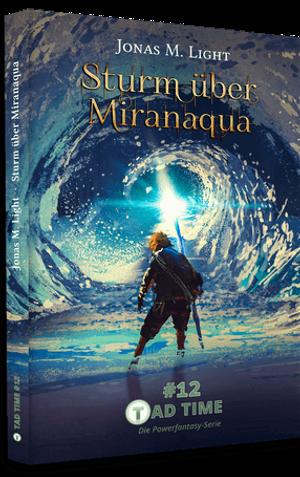 Sturm über Miranaqua Taschenbuch Cover