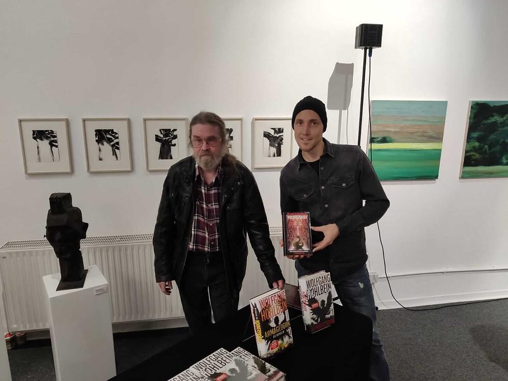 Fantasyautoren Wolfgang Hohlbein und Jonas M. Light