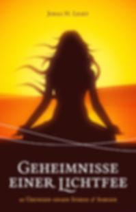 """Cover Buch """"Geheimnisse einer Lichtfee"""""""