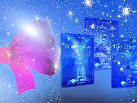 Buchgeschenk für Fantasy-Fans: Die TAD TIME Powerfantasy-Serie