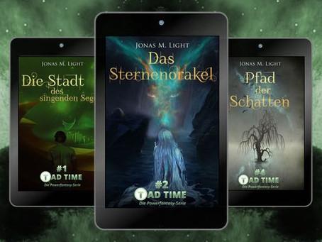 Neue Cover im Fantasy-Style für die ersten 5 Tad Time Episoden