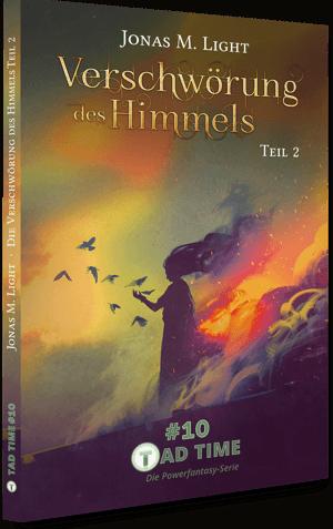 Taschenbuchcover Fantasyroman Tad Time Episode1