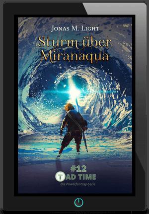 Tad Time Fantasyserie: Sturm über Miranaqua E-Book Cover