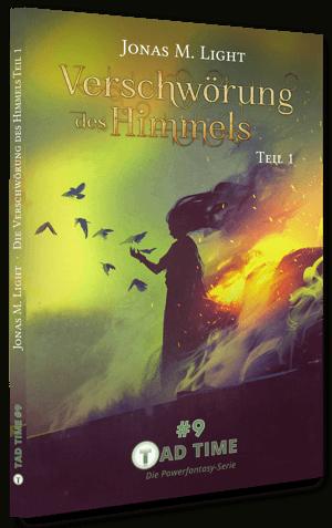 Cover Fantasyroman Tad Time Episode 9 Tashenbuch