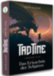Taschenbuch Cover Fantasyroman Tad Time »Das Erwachen der Schatten«
